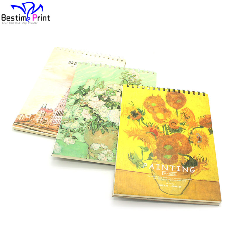 Hight Quality sketch pad notebook <strong>printing</strong> With Trade Assurance