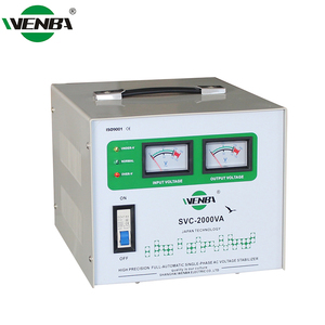 Ac 2Kva 2000Va AVR Single Phase Avr Automatic Frequency Stabilizer 2000W