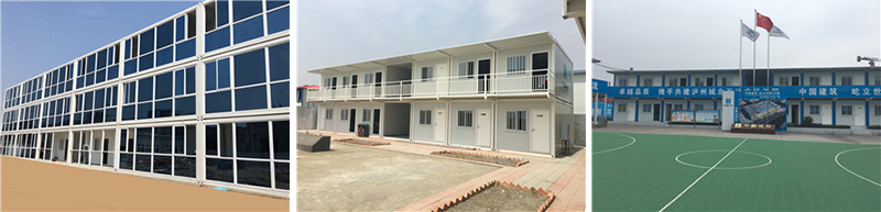 Hight Quality Prefabricated Living Construction Site Container House