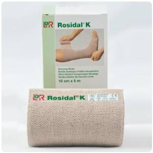 "Rosidal K Short Stretch Bandage - 5.5 yds (5m) long, 3.93"" (10cm), Single Roll"
