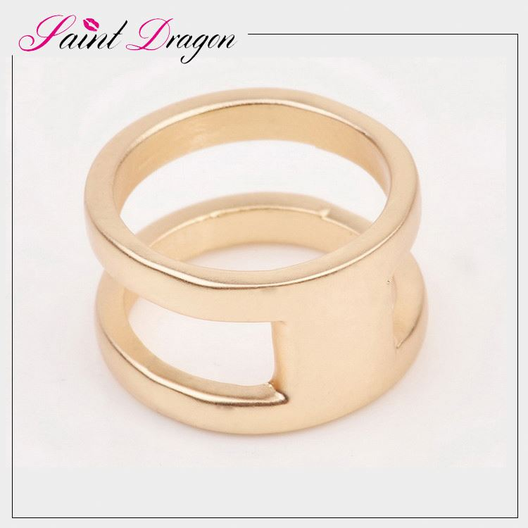 Simple Gold Ring Design Without Stone For Women China Factory ...