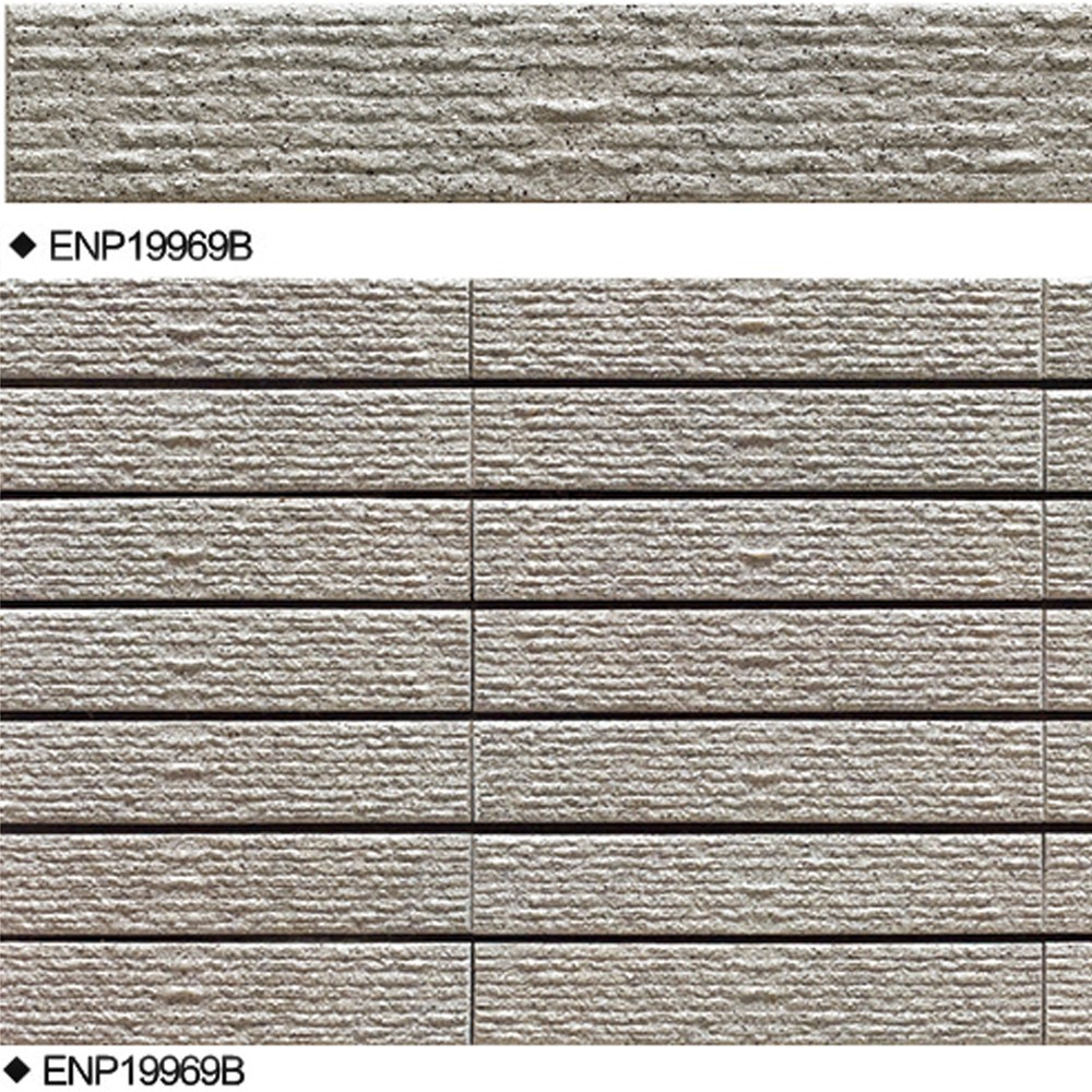 Good looking design exterior wall tiles linear cut for House outer wall design