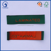 Custom garment woven cloth tags for clothes