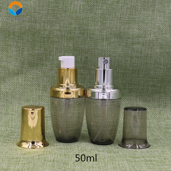 Plastic PETG bottle 50ml cosmetic contanier