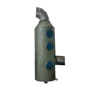 Typical spray frp flue gas scrubber