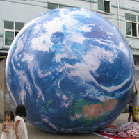 Sunway Inflatable Earth Globe / Inflatable Earth Beach Ball - Topographical