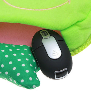 Cute Lovely Smile Face USB Plush Hand Warmer Mouse Pad Heating Mat PC Computer