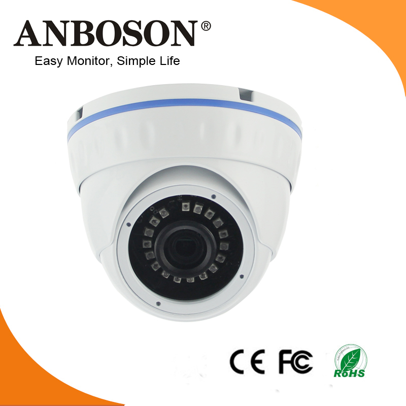 Wide view angle 3.6mm lens WDR and P2P IP video surveillance system