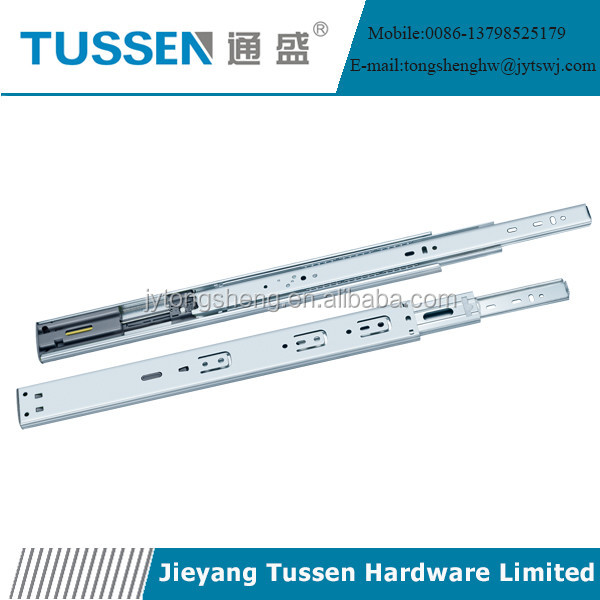 Heavy Loading Telescopic Soft Close Drawer Slide
