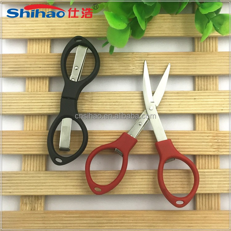 High Quality Eco Friendly Safety Baby Scissors Curved