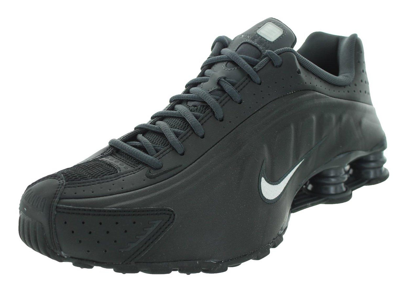 41d4941743c99d Get Quotations · Nike Men s Shox R4 Black White Anthracite Running Shoe 8.5 Men  US