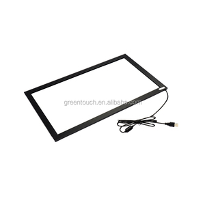 19 inch wide ir multi touch screen frame 10 points infrared touch screen overlay kit multi touch frame with glass
