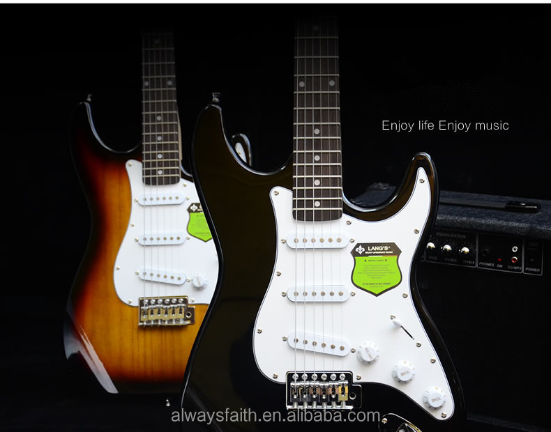 2016 Hot selling China ST electric guitar for sale