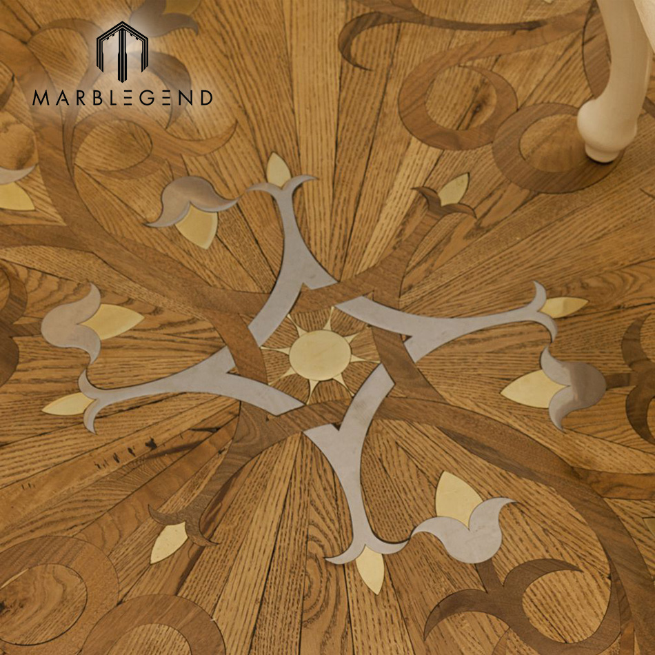 Best Quality Laminate Oak Hardwood Marquetry Parquet Wood Flooring Product On Alibaba