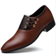 ZY1739A mens 38-48size casual cusp custom leather shoes