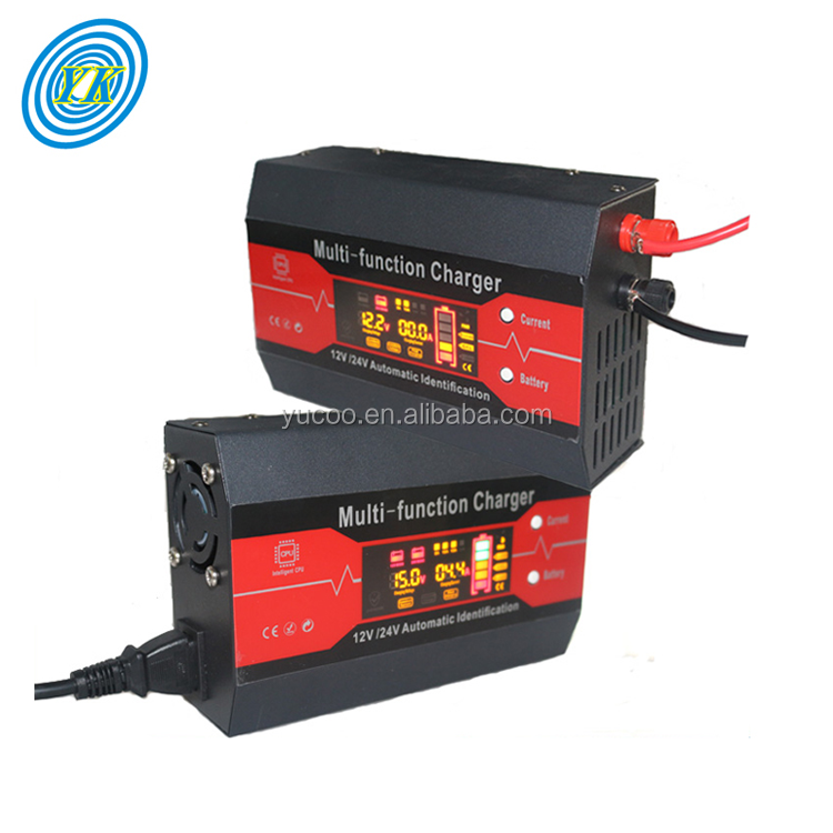 CPU control 12v 24v automatic battery charger