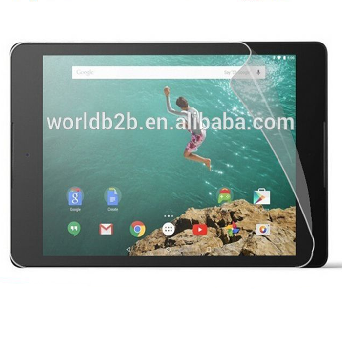 High Definition Clear Screen Protector für Google Nexus 9 Maximale Klarheit und Touchscreen-Genauigkeit