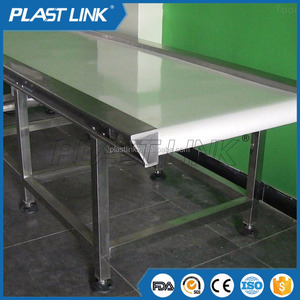 PL nylon rubber inclined belt conveyor machine for custom price