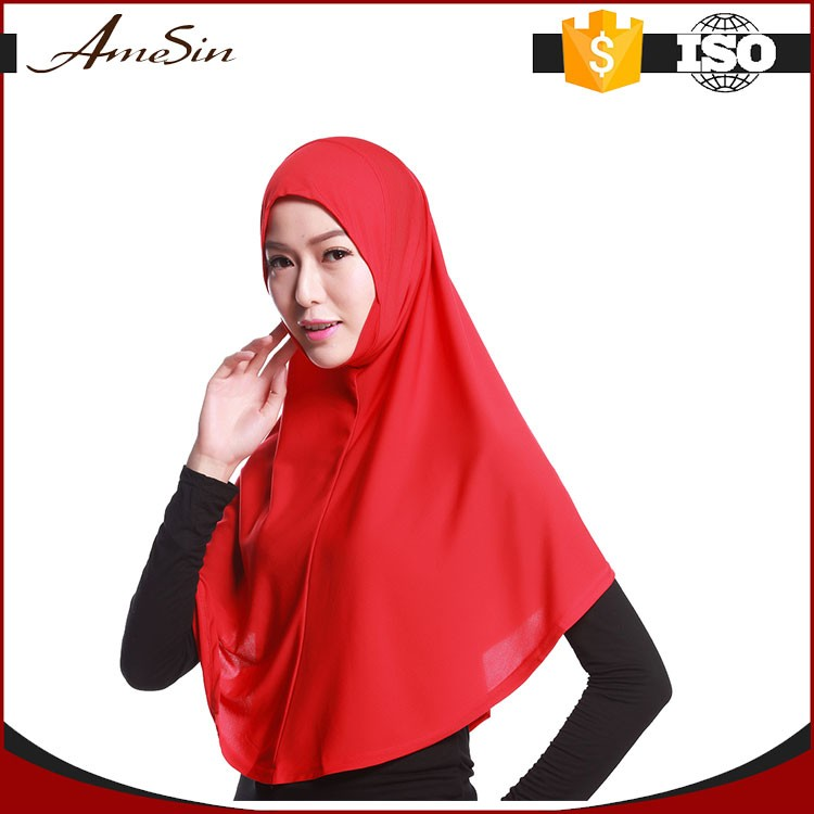 AMESIN SZM20 Provide a variety of solid colors women hijab shawl