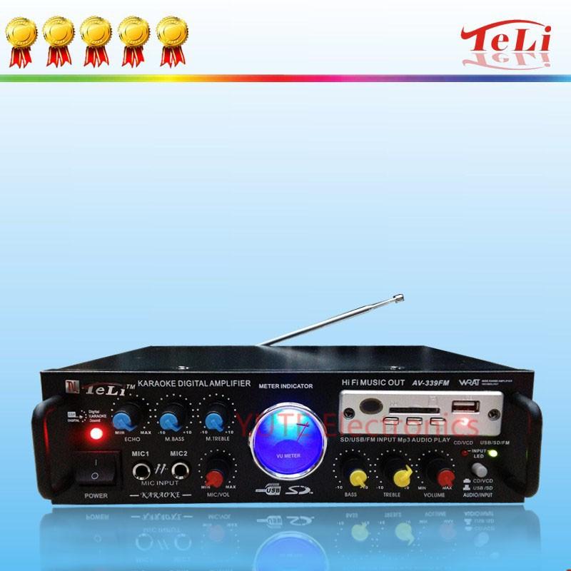 Mp3 Player Amplifier Av-339 Av-339 Fm Mini Radio With Mp3