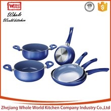 best selling products professional delicate colorful cast iron cookware set happy baron