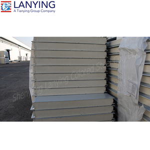 Good price cold room polyurethane PUR PIR sandwich panel price