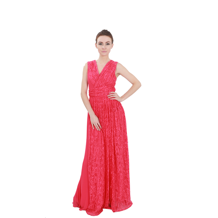 2b405d5e199 2017 Elegant Red Dress Long Plus Size Women Clothing Ball Gown Prom  Guangzhou Bridesmaid Dresses