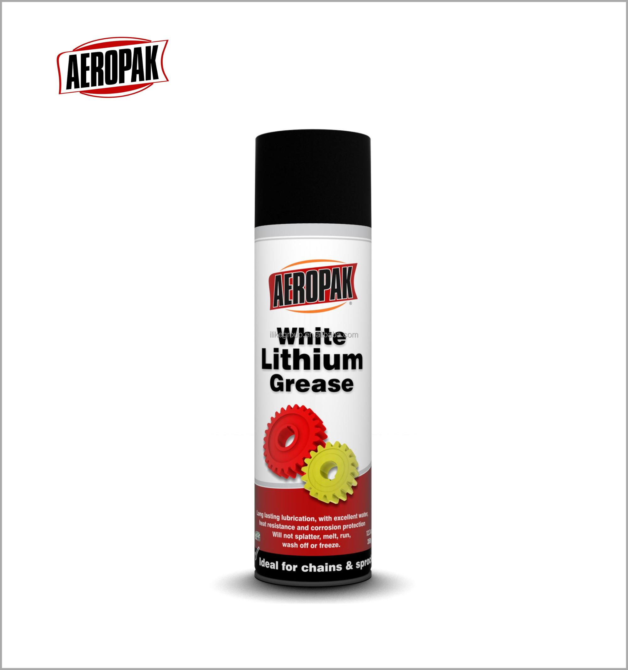 White lithium grease lubricant