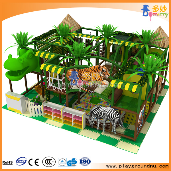 Indoor play area new design jungle theme playground kids for Jungle themed playroom