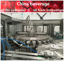 PET bottle soybean oil filling machine / PET complete filing line