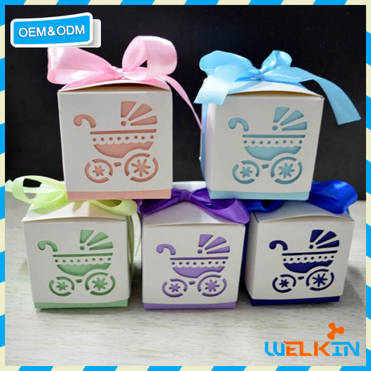Chinese factory price baby shower favor box party favor