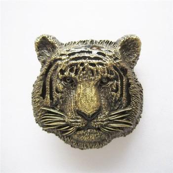 4cb550ca3 Cool Bronze Plated Tiger Head Belt Buckle For Men - Buy Bronze ...