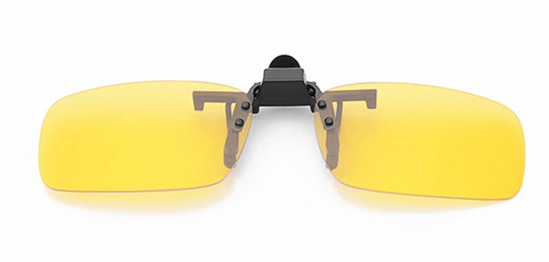 clip sur les lunettes de soleil de conduite de nuit heju. Black Bedroom Furniture Sets. Home Design Ideas