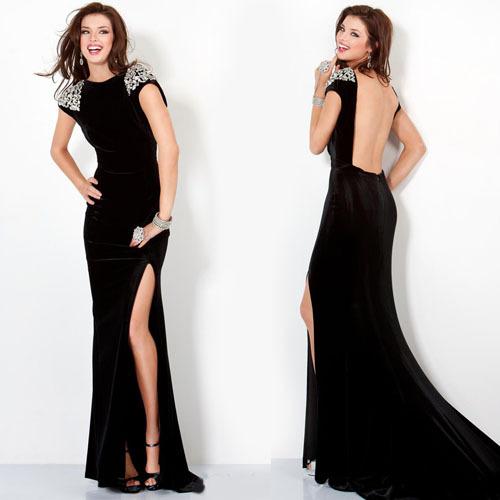 Cheap Black Velvet Dress Long Sleeve, find Black Velvet Dress Long ...