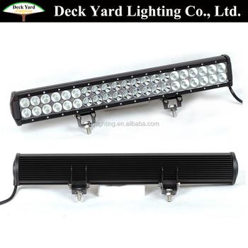 126w Wholesale Led Light Bar 12 Volt Led Light Bar Led Off Road