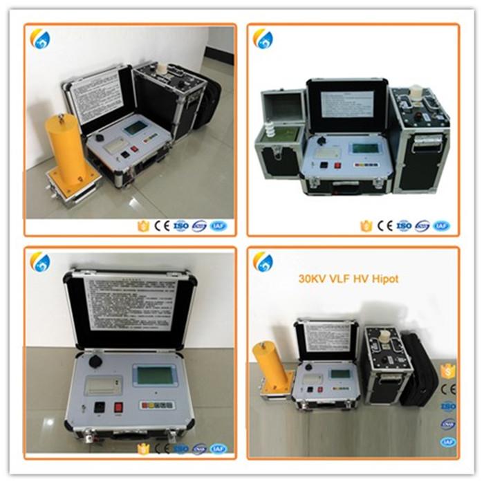 White High Voltage Test Equipment : Alibaba rfq hotsale kv vlf ac high voltage test