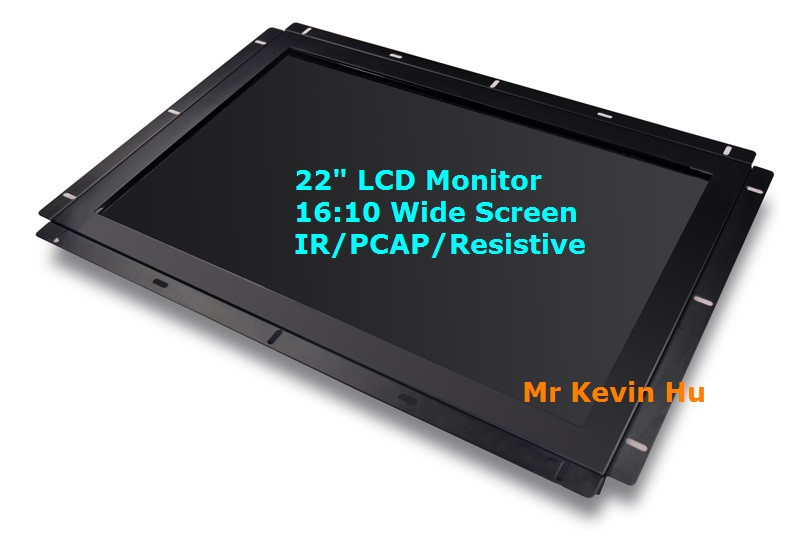 "1680*1050 resolution 16:10 16:9 openframe 22"" 24"" 27"" 32"" lcd glass monitor for game cabinet/video slots 2440L 2740L 3243L"