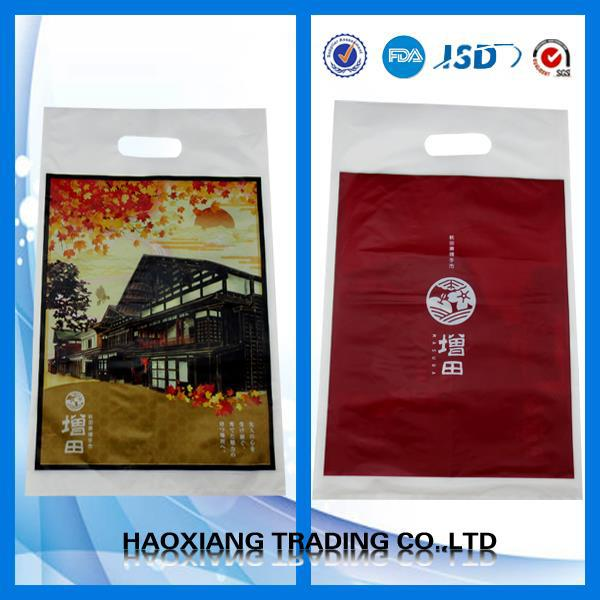 Food grade plastic carry bags cheap reusable bags