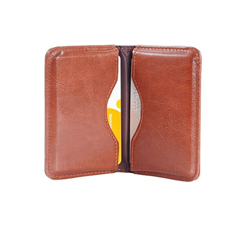 Business-Card Case, PU -Leather- Professional -Name Card Holder Wallet Case / Organizer with Magnetic Shut
