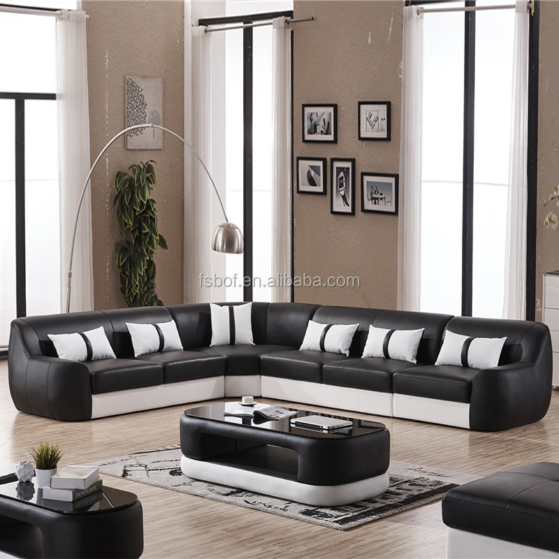 Different Style Luxurious Genuine Leather L Shaped Sofa Designs Office  Furniture Couch 810 - Buy L Shaped Sofa Designs,Office Furniture ...