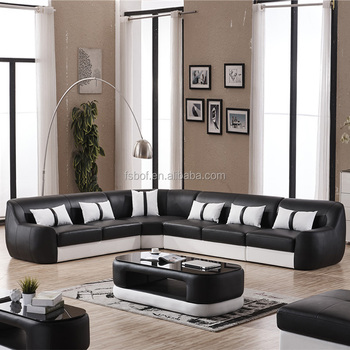 Diffe Style Luxurious Genuine Leather L Shaped Sofa Designs Office Furniture Couch 810