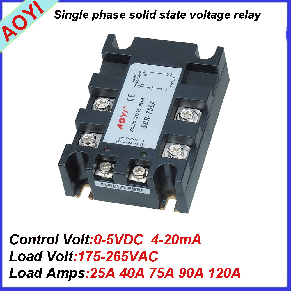 Dc To Ac Single Phase Ssr With Voltage Regulator Scr 25la Ii Buy Wiring Diagram Regulatordc
