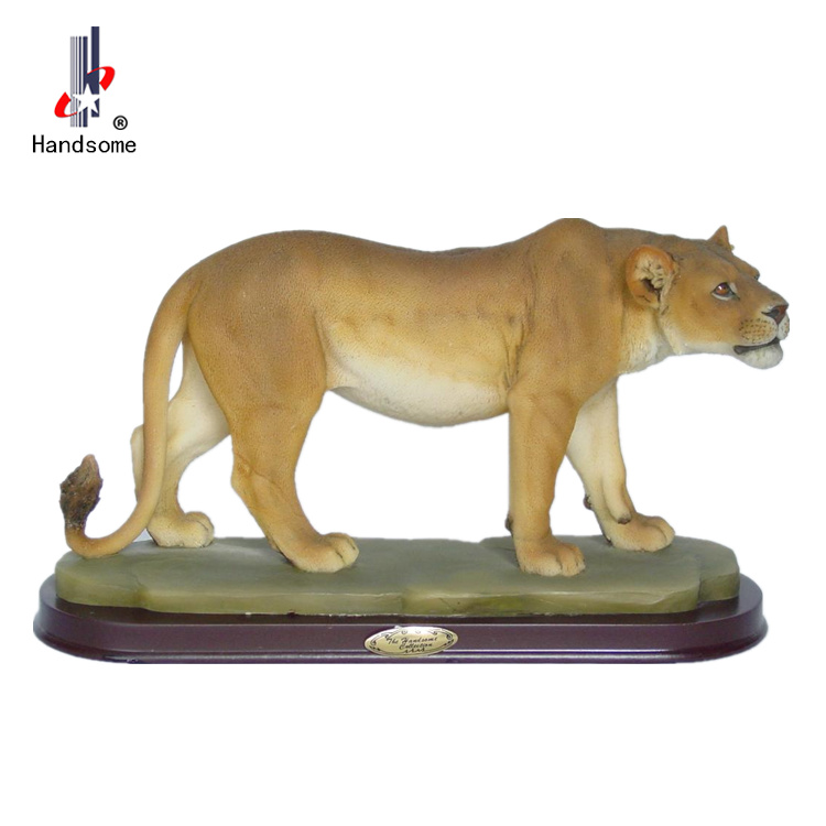 12 Inch Miniature Resin Animals Souvenir Lion Figurines