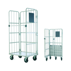 Time Limit Promotion 20% Off High Quality Cargo Storage Cage Roll Container Cargo Cart
