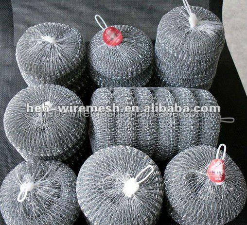stainless steel scrubber/scourer/cleaning ball