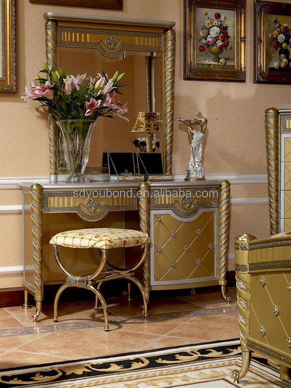 0016 Luxury Bedroom Set High Quality Russian Furniture