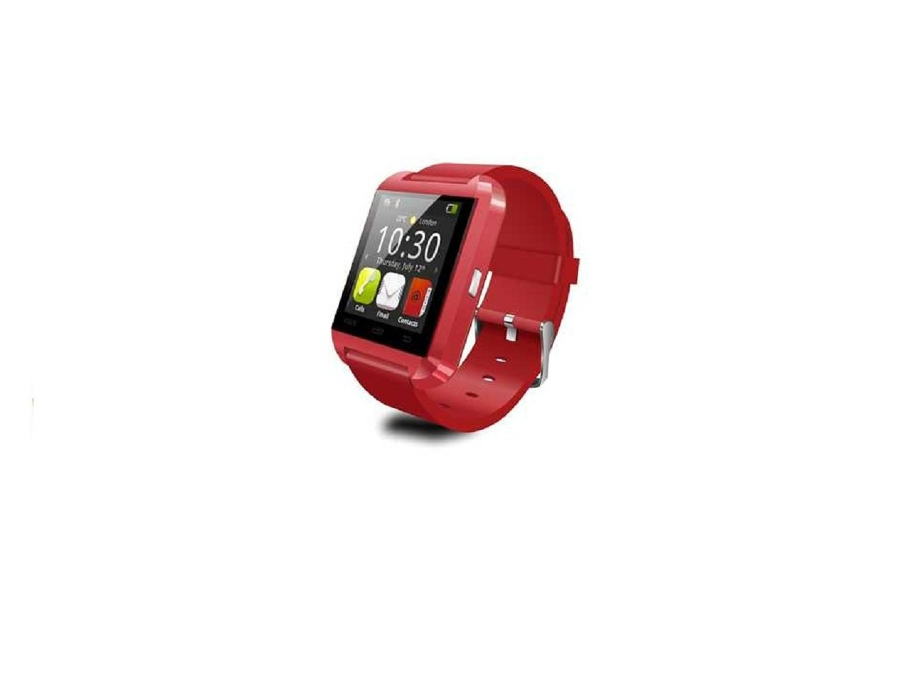 This is a smart watch, statistical steps, check the time, GPS positioning, Bluetooth smart watch connection, the warmest gift parents to children (red)