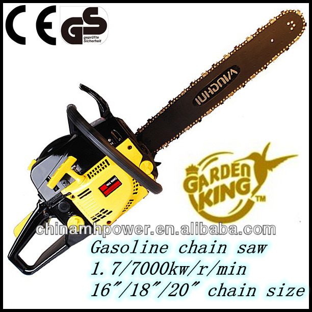 5200 chain saw gasoline 52cc chainsaw