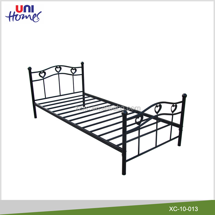 cheap metal bed frame cheap metal bed frame suppliers and manufacturers at alibabacom - Cheap Single Bed Frames