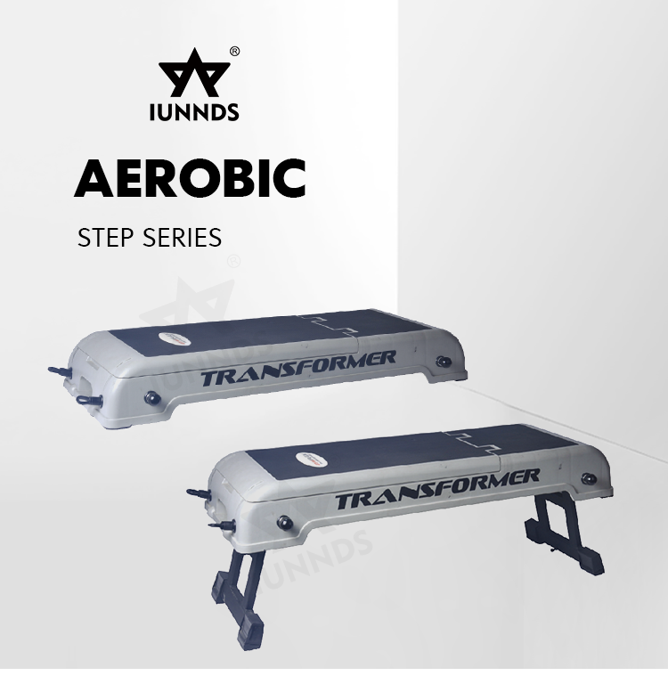 Versatile Adjustable Folding Exercises Stepper Aerobic